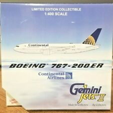 C)Continental Airlines Boeing 767-200ER  Die-Cast