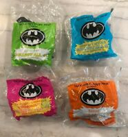 McDonald's Happy Meal Batman Toys 1991 Coupe Roadster Car NEW Complete Set of 4