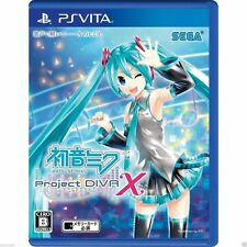 Hatsune Miku -Project DIVA- X PS Vita SONY JAPANESE NEW JAPANZON