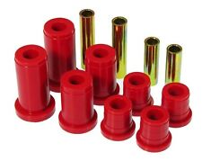 Prothane 88-98 Chevy GMC 4WD Trucks Front Control Arm Bushing Kit Red Poly 7-206