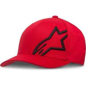 Alpinestars Corp Shift 2 Flex Fit Casual Baseball Hat Cap Red Black