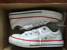 CONVERSE ALL STAR FOR JUNIORS  CT AS STREET OX WHITE CONVERSE ( 12) $ 75