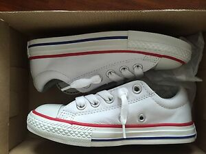 CONVERSE ALL STAR FOR JUNIORS  CT AS STREET OX WHITE CONVERSE ( 11) $ 75