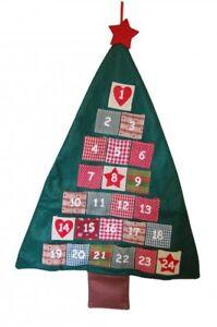 Heaven Sends Christmas Decoration - Fabric Tree Advent Calendar