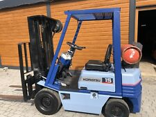 More details for komatsu forklift container spec triple low hours