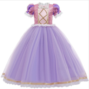 Robe Déguisement Costume  Enfant Fille princesse  Raiponce