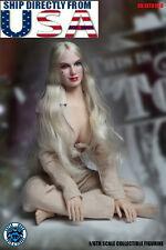 1/6 Harley Quinn Head Sculpt Prisoner Set Suicide Squad For PHICEN Figure USA