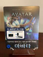 Avatar Steelbook (2D/3D Blu-ray, Korea Import, Region Free) RARE ONLY 300 MADE!!