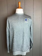 Seton Hall Pirates Men's Large Gray Dressy Crewneck Sweatshirt Under Armour Golf