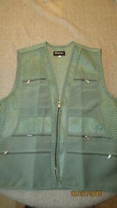 Men's  Spotex Multi Pocket Hunting Fishing Work Tools Multi Use Vest XXXL NWOT