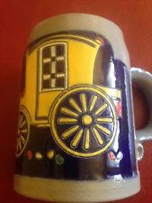 RARE FIND Antique Reinhold Merkelbach Salt Glazed Beer Stein Horn Blower NO LID