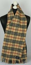 BURBERRY SCARF 100% LAMBSWOOL FOR MEN AND WOMEN MADE IN ENGLAND