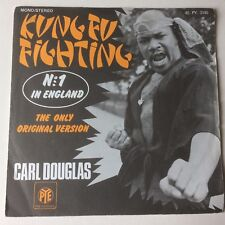 "CARL DOUGLAS: ""KUNG FU FIGHTING"" on FRENCH PYE with PICTURE SLEEVE"
