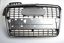 Front Central Grill Grille Fits AUDI A4 B7 2004-2007