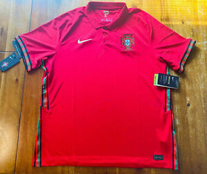 Nike Portugal Football Men's Soccer Jersey Polo Exclusive Product NWT Size XL
