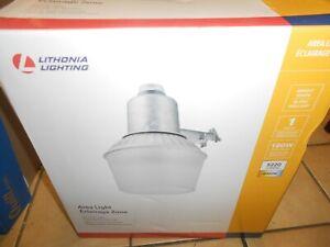 Lithonia Lighting  1-Light Dusk-to-Dawn Metal Outdoor Halide Area Light