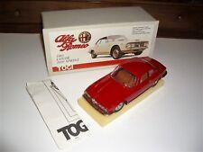 1/23 TOGI Alfa Romeo Coupé 2600cc. Sprint 1965 Street Red MIB Vintage Very Rare