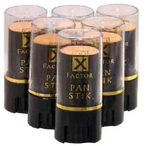 X-FACTOR PAN STIK CREAMY FOUNDATION 8g NEW  VARIOUS SHADES PANSTICK FREE P&P
