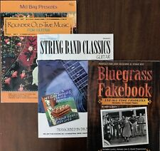 Three Old-Time Stringband Bluegrass Books for Guitar Highwoods Stringband