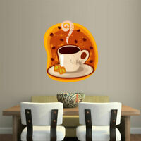 Full Color Wall Vinyl Sticker Decals Kitchen Bright Coffee Cup Art (Col103)