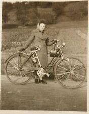 Altes echt Fotos Oldtimer Fahrrad - Waffenrad Selten