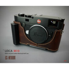 Lim's Design Lims Genuine Italy Leather Case for Leica M10 Brown