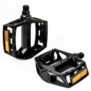 FLAT PLATFORM BICYCLE PEDALS IN 5 COLOURS