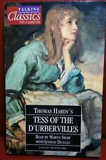 Tess Of The D'urbervilles,Audio Book,2 Cassette Tape,Thomas Hardy,Fast Free P&P