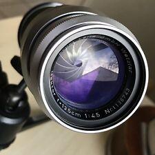 - Leitz Wetzlar Hektor 135mm f4.5 Lens for Leica M Bayonet Mount, M3, M4