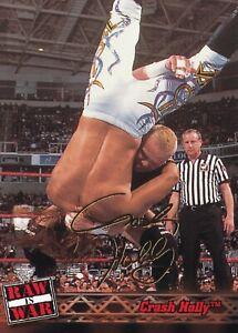 Crash Holly 2001 Fleer WWF Raw is War Rookie Card #28 RC WWE Hardcore Champion