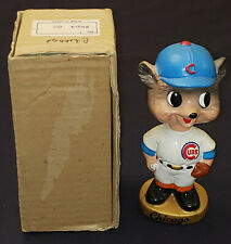 1960's - CHICAGO CUBS - MLB - BOBBING /BOBBLE HEAD /NODDER with BOX - ORIGINAL