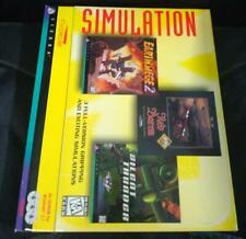 EarthSiege 2, Red Baron, Silent Thunder - Sierra Simulation PC Big Box ✰NEU✰