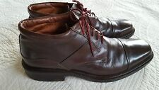 Johnston & Murphy Brown Square Toe Ankle Boots Men's Size 9.5 M