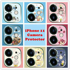 Cartoon iPhone 11 Pro Max Camera Protector Cute Anime Lens Tempered Glass Cover
