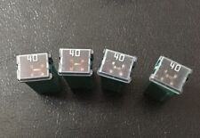 40A 32V AMP J Case Female Plug in Blade Cartridge PAL Fuse Fuses 4 Pcs