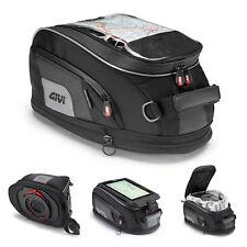 Givi XS307 Xstream Tanklock Expandable Tank Bag 15 Litre Black GPS Holder