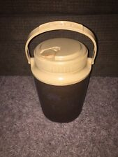 GOTT 1/2 Gallon Water Cooler Thermos Drink Jug Container w/Top Handle Brown