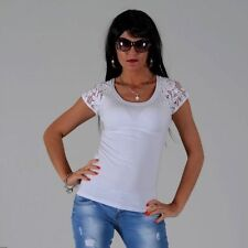 Blouse Lace Fitted Tops & Shirts for Women