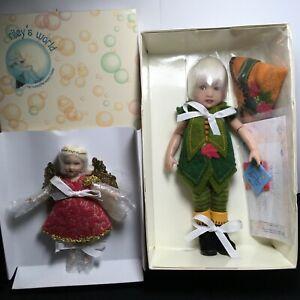 "NRFB Helen Kish   ""Little Peter  &  Tiny Tink ""  Riley's World  2007"