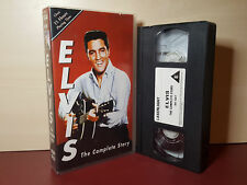 Elvis - The Complete Story - PAL VHS Video Tape (H109)