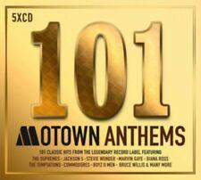 101 SONGS Motown Anthems 5CD Set NEU