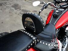 S) Yamaha Midnight Star XVS1300 Studded Driver Rider Backrest Vstar XVS 1300