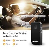 Mpow Bluetooth 5.0 Receiver TV Home Car Kits Audio AUX Adapter HD Stereo Sound