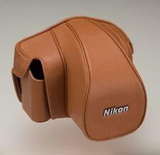New Nikon Single-lens camera case semi-soft Case Cf-Dc6 Brown