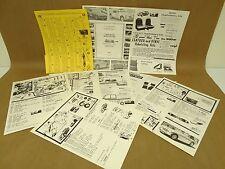 Vintage Specialist 1979 Dealer Literature Catalog Lot Part List Austin Healey