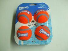 Chuckit! Dog Fetch Tennis Balls Floating Soft Toy Fits Launcher Medium 4 Pack