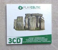 CD AUDIO MUSIQUE / PLAY CELTIC  3XCD COMPILATION DIGISLEEVE NEUF 2012