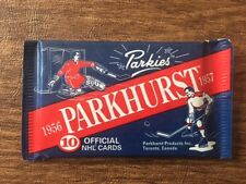 3 Sealed Packs 1994-95 Parkhurst Parkies Hockey reprint of 1956-57 Parkies