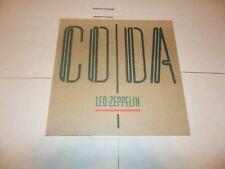 "Led Zeppelin ""CODA"" US Promo Only Album Flat (Poster)"
