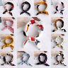 Head-Neck Tie Bags Tie Silk Feel Satin Handkerchief Bandana Women Square Scarf